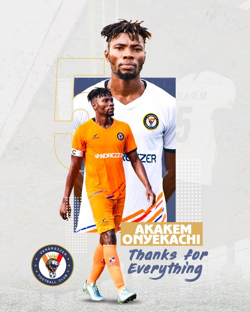 AKAKEM SIGNS OUT FROM VFC