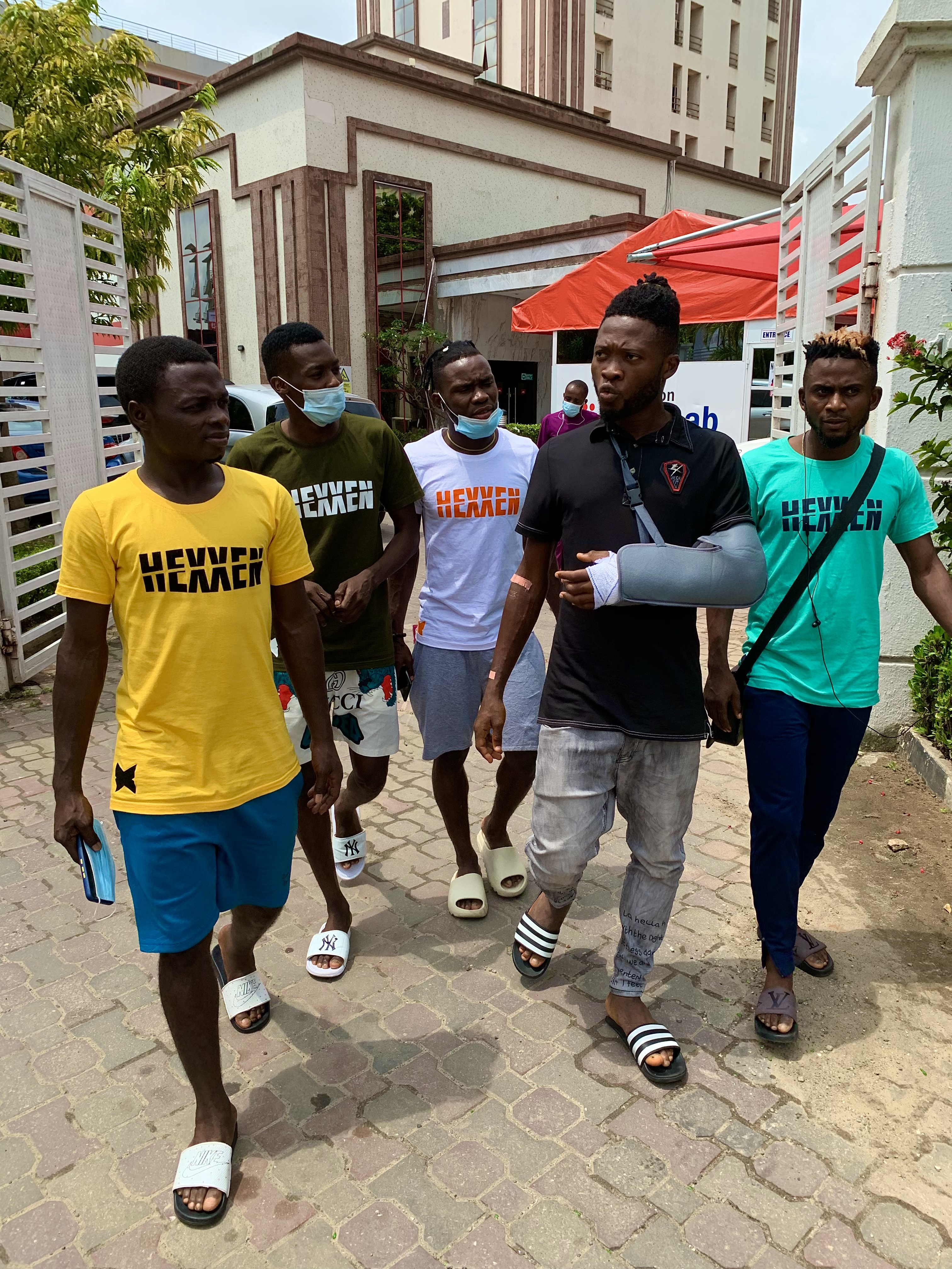 EKPO DISCHARGED FROM HOSPITAL, RULED OUT FOR THREE MONTHS