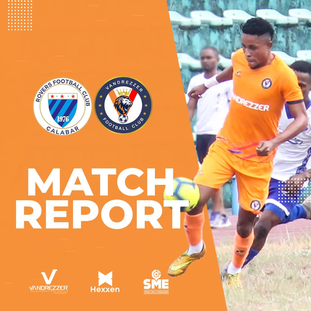 MATCH REPORT: ROVERS 1-0 VFC