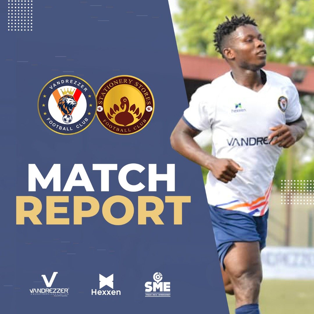 VANDREZZER FC TAKE THE DAY AT LAGOS DERBY AGAINST STORES FC