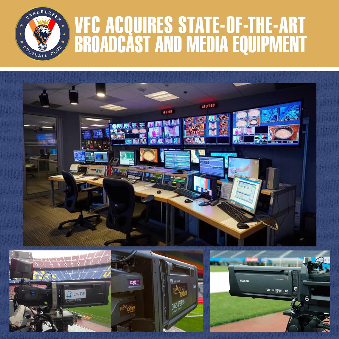 VFC ACQUIRES STATE-OF-THE-ART BROADCAST AND MEDIA EQUIPMENT