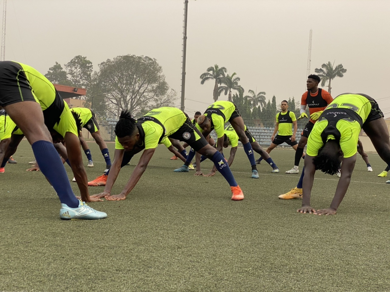 VFC CLASH WITH TEAM LAGOS IN FRIENDLY